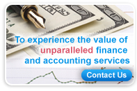 Experience the value of unparalleled finance and accounting services