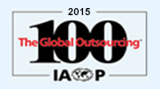 Recognized as one of the Top 75 Service Providers globally by IAOP